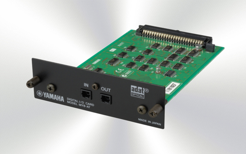 MY8AT - Tarjeta Yamaha ADAT 2x ópticos  -2505-0010-