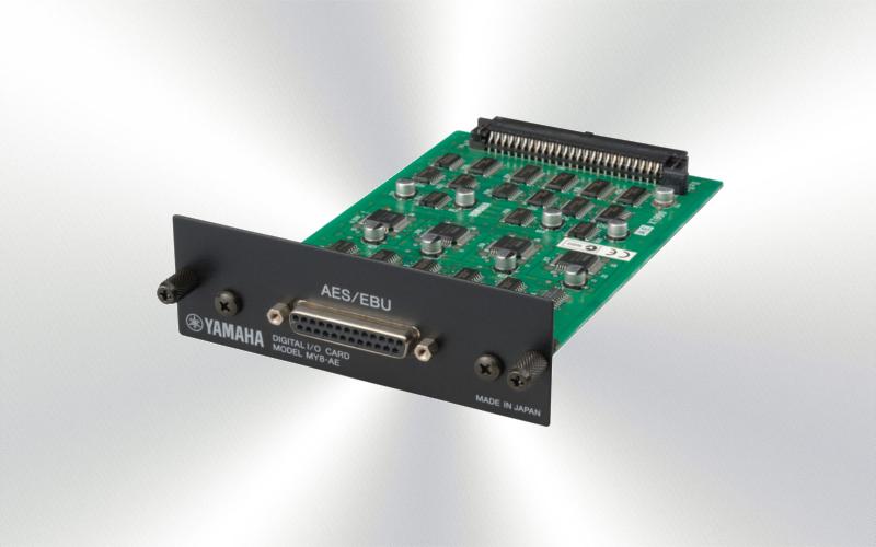 MY8AE - Tarjeta Yamaha 8 e/s AES/EBU D-25  -2500-0010-