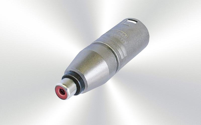 NA2MPMF -ADAPTADOR NEUTRIK RCAh a XLR3m -0030-0012-