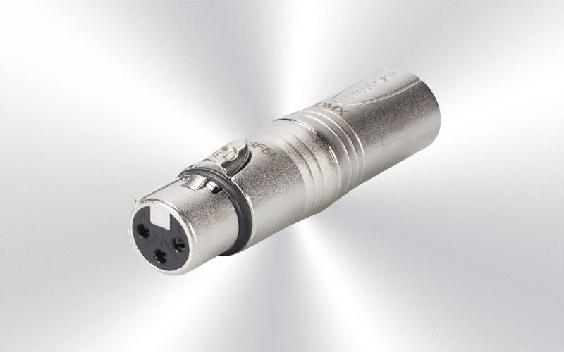 NA3F5M -ADAPTADOR NEUTRIK XLR5m a XLR3h -0030-0012-