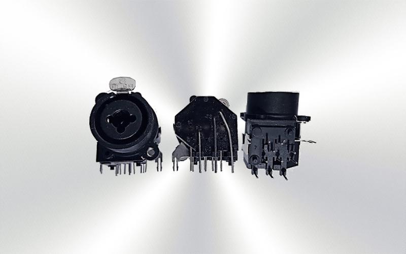 NCJ9FI-H - Conector de chasis híbrido XLR / jack -4500-0025-