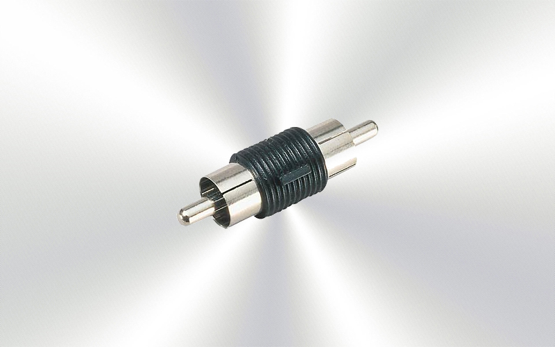NTA-101 - Adaptador de audio de RCA macho  a RCA macho -10000-0025-