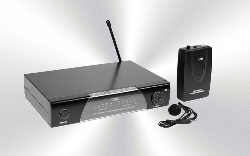 PBS-1 -Micrófono de solapa inalámbrico VHF PSK-Audio -0000-0000-