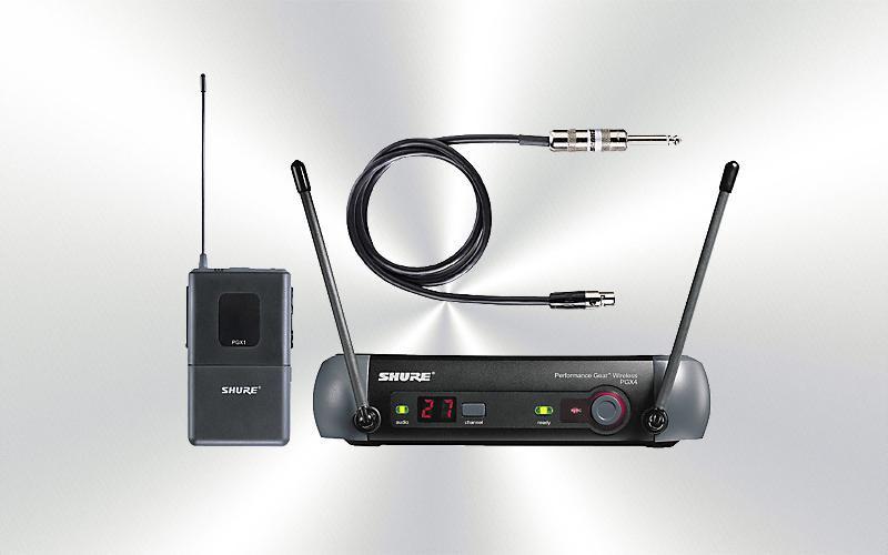 PGX14E -Micrófono para instrumente inalámbrico SHURE -0015-0005-