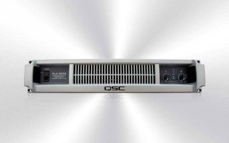 PLX 3602 (REPARADO) -Amplificador de potencia QSC de baja Z