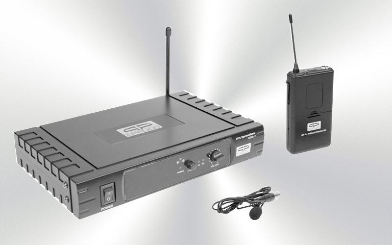 QBS 1 -Micrófono de solapa inalámbrico QP Audio 16 canales -0035-0015-