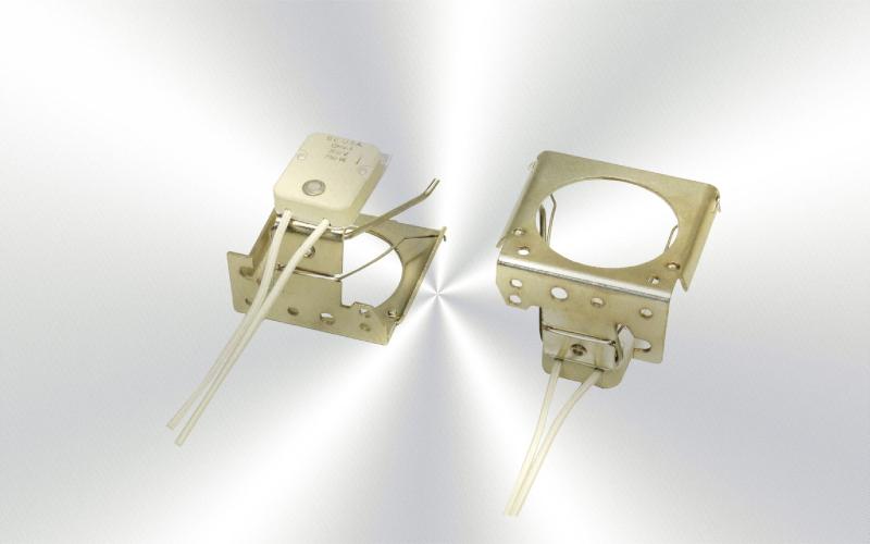 QHV-1 -Portalámparas de cerámica, cables de 4'' para lámparas MR16 -0090-0025