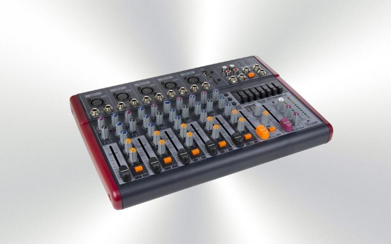 QPM-802 -MESA DE MEZCLAS  P.A. DSP QP-AUDIO -0035-0015-