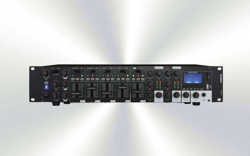 SM-1860U -Mezclador Fonestar RACK-19 8 canales. USB -3791-0017-