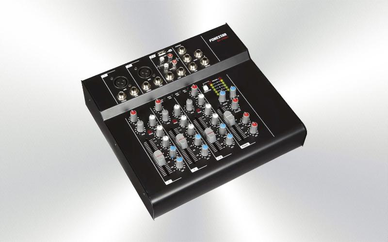 SM-2400U - Mezclador estéreo USB, SD, MP3 FONESTAR -0030-0012-