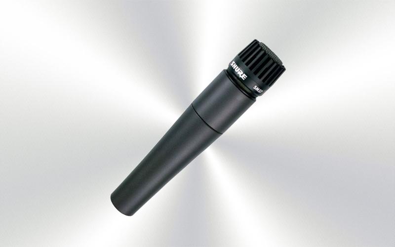 SM57 LCE -Micrófono de mano por cable dinámico instrumento Shure -0015-0005-