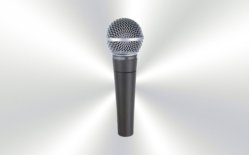 SM58 LCE -Micrófono de mano por cable Dinámico cardioide  -0015-0005-