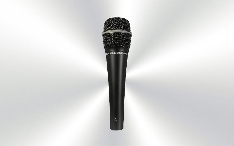 SPC-20 - Micrófono de mano por cable condensador cardióide  Nady -0010-0000-