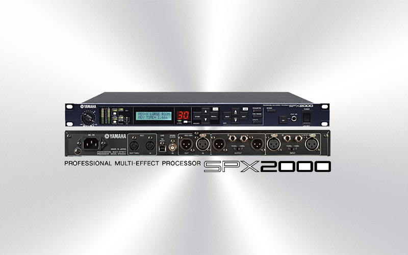 SPX2000 - Multiefectos Yamaha  -1248-0000-