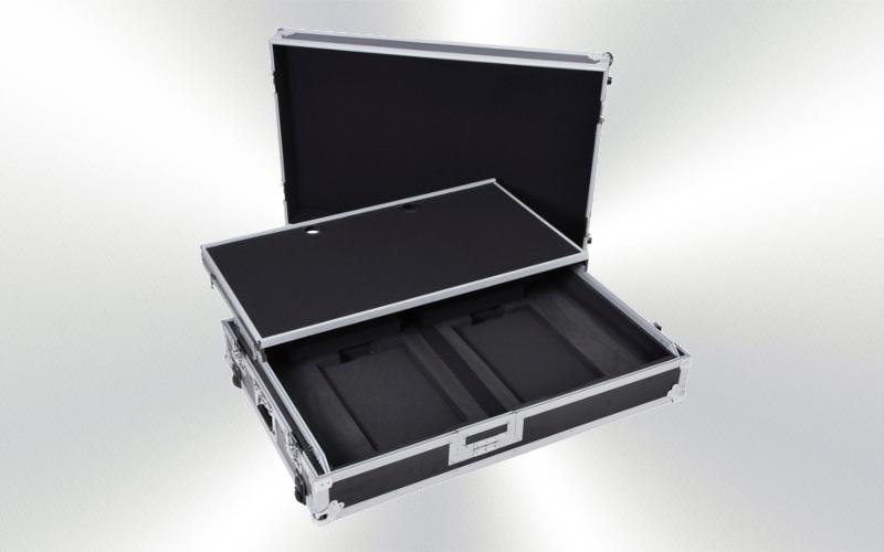F.C. DDJ-RZX -Flight case  para DDJ-RZX bandeja ruedas -3500-0015-