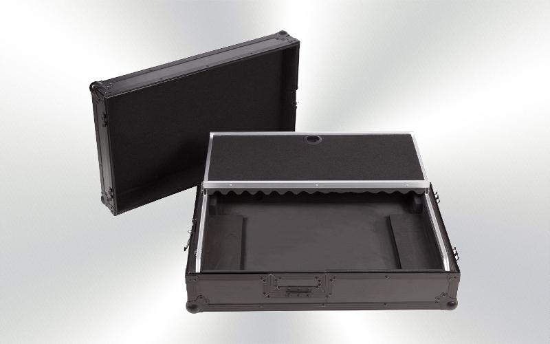 WMC-PRO1MWBK -Fight case controlador Midi Pioneer DDJ-1000 Negra (soporte ordenador, trolley y ruedas) -0035-0015-