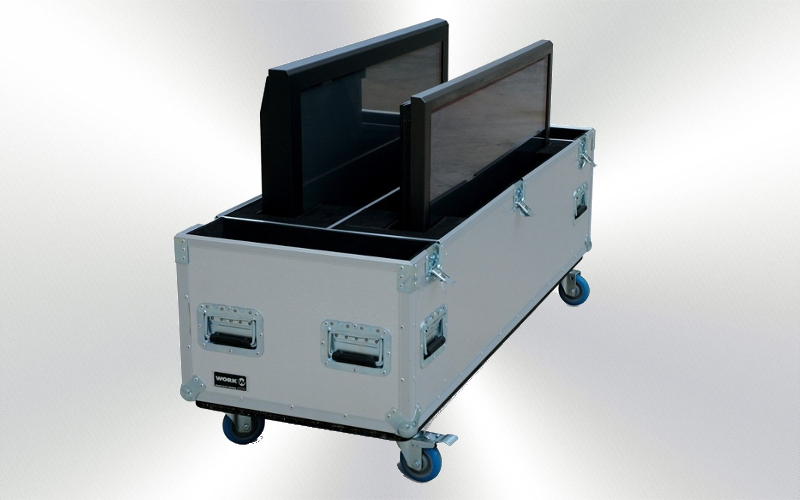 WORK TV4 -Flight case para 2 plasmas de 50'' -0010-0000-