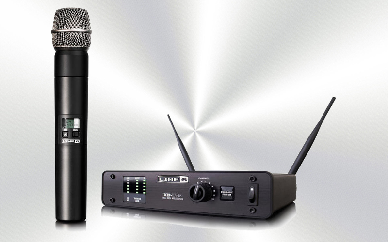 XD-V55 -Micrófono de mano  inalámbrico 12 canales 2.4 GHz LINE 6 -0005-0000-