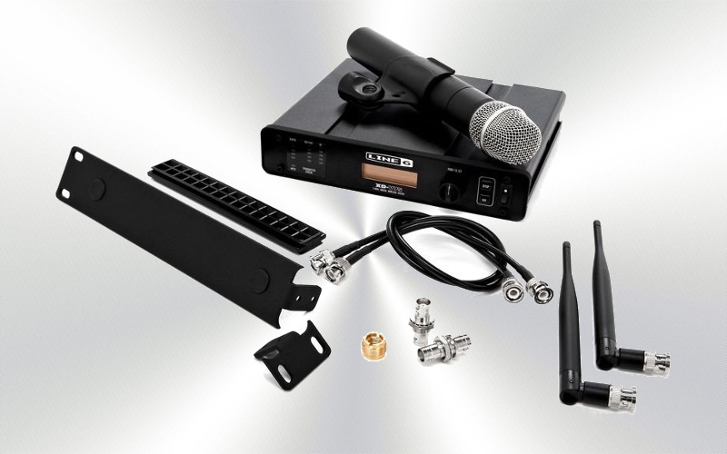 XD-V75 - Micrófono de mano inalámbrico  14 canales 2.4 GHz LINE 6 -0005-0000-