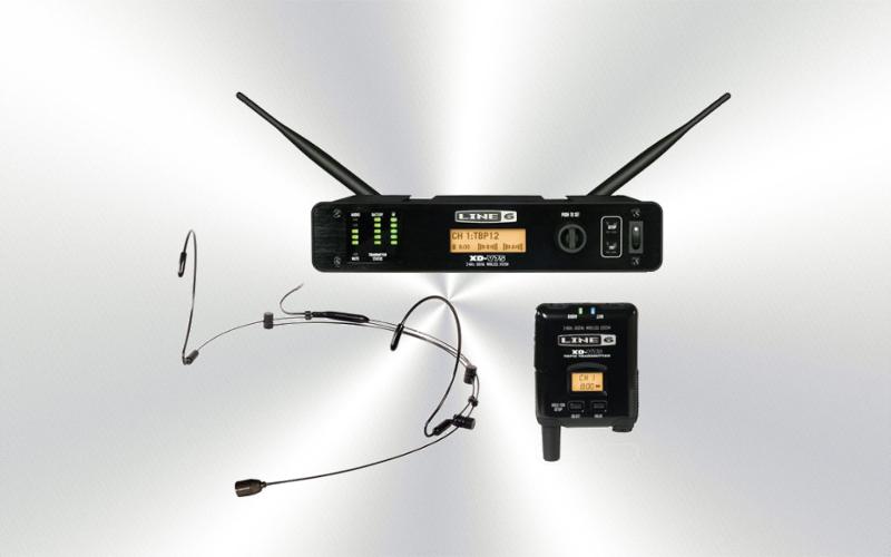 XD-V75hs -Micrófono de diadema inalámbrico 14 canales 2.4 Ghz LINE-6 -0005-0000-E