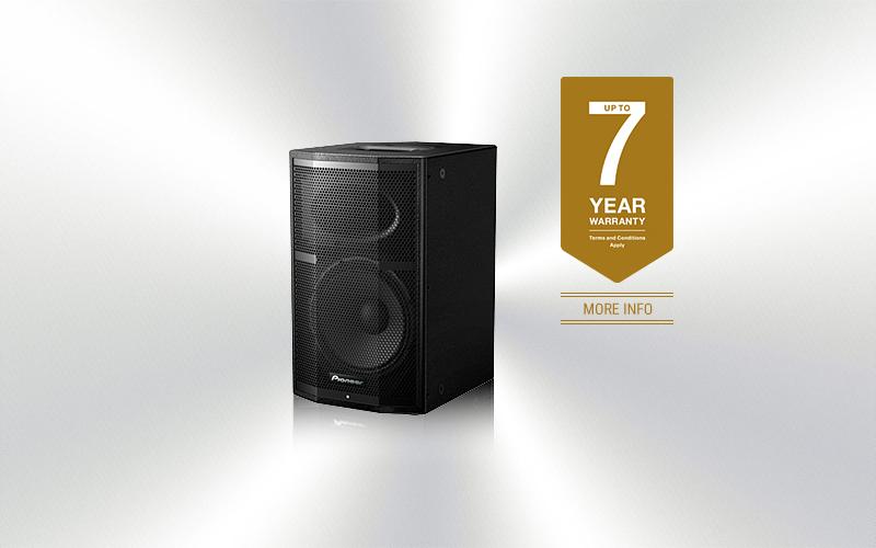 XPRS-10 -Caja amplificada Pioneer Pro Audio 10''+ 1.75'' 1200w programa -3601-0016