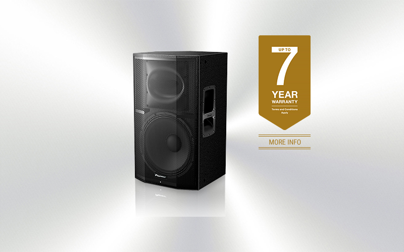 XPRS-15 - Caja Pioneer Pro Audio amplificada 15'' + 1,75'' 1200W programa -3778-0017