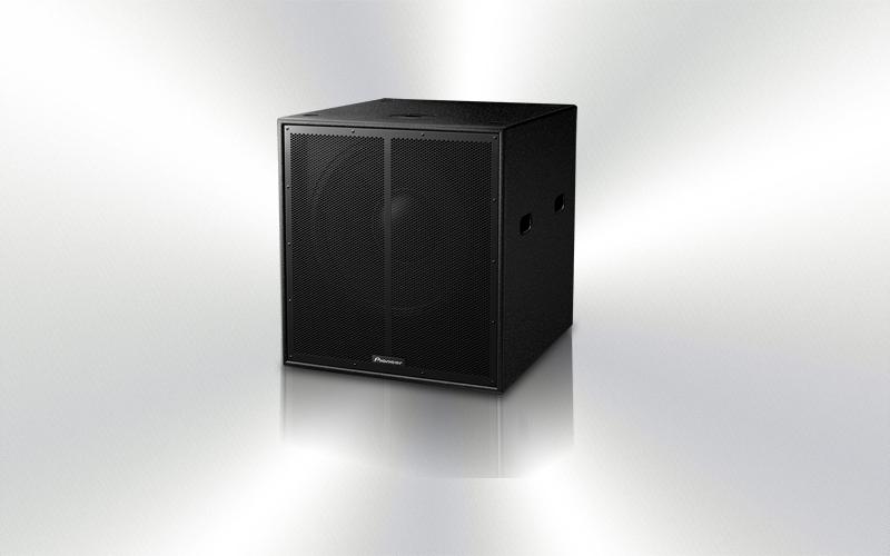 XY-118S -CAJA SUBGRAVE PASIVO 182 Pioneer Pro Audio 1000Wrms 127dB -4500-0020-