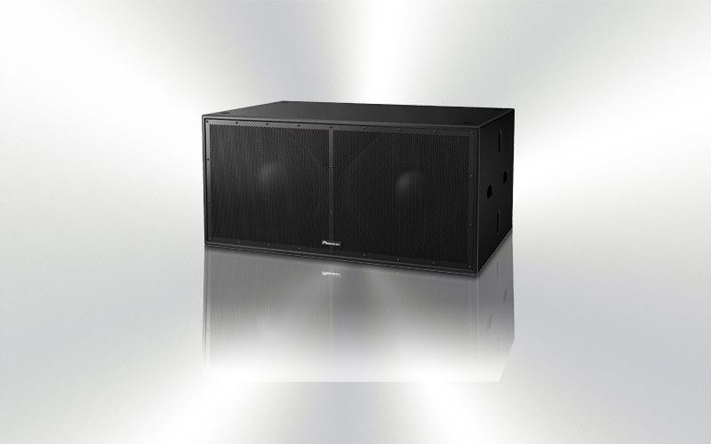 XY-218S -CAJA SUBGRAVE PASIVO 18'' x 2 Pioneer Pro Audio 1600 Wrns 134 dB cont. -4500-0020-