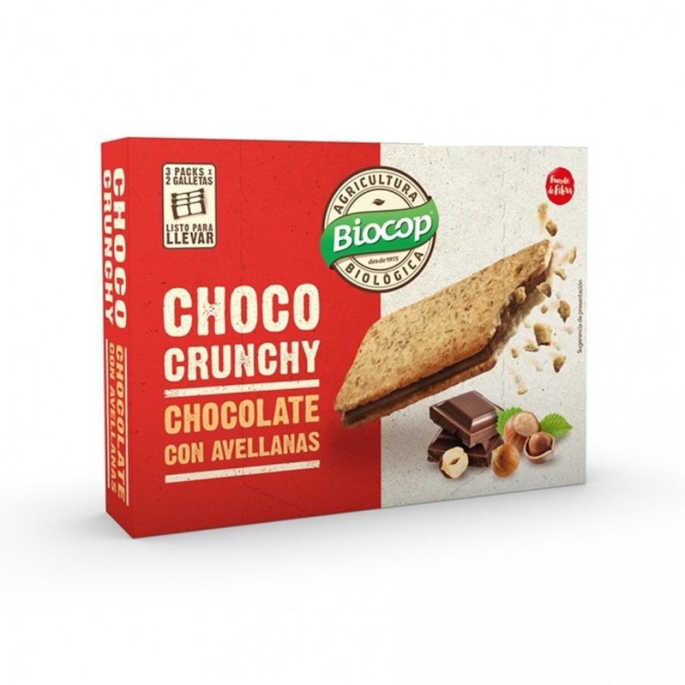Galletas Choco Crunchy Avellanas 170gr Bio
