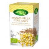 Manzanilla con anís 20 filtros bio