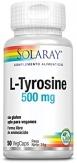 L-Tyrosine 500mg 50 cápsulas