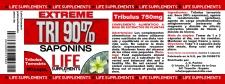 Tribulus 90% 90cáp Life S.