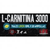L-Carnitina 3000 20 ampollas Limón