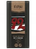 92% Cacao feine bitter 80gr BIO