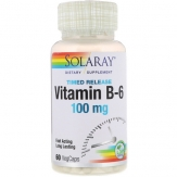 Vitamina B6 100mg. 60 cap.