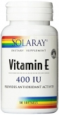 Vitamin E 400 iu 50 softgels