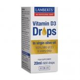 Vitamin D3 drops 20ml.