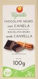 Chocolate Negro con Canela 100grs. Bio