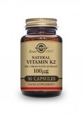 Vitamin k2 - mk7 50 veg Cápsulas
