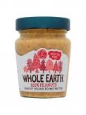Whole earth 100% cacahuete Crunchy 227gr.Bio
