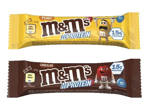 M&M Hi-Protein Bar 51g