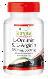 L- Ornitina & L- Arginina 90 comp.