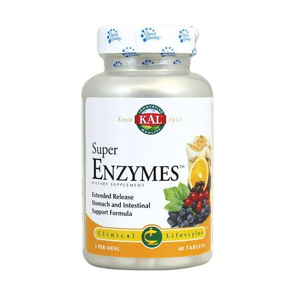 Super Enzymes 60 tabletas