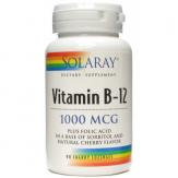 Vitamina B12 1000 + ácido fólico 90 comprimidos