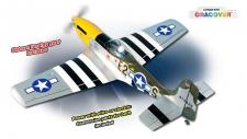 AVION MUSTANG P-51 40/EP PHOENIX MODEL