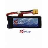 BATERIA LIPO RAPICON 2200MAH 2S 25C