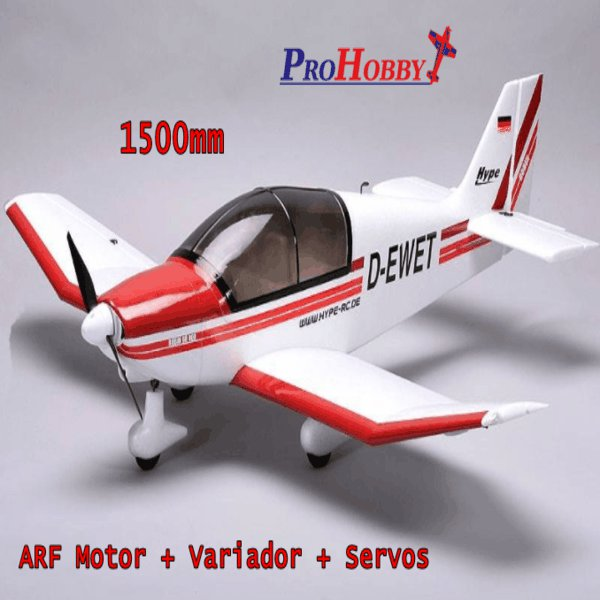 AVIÓN ROBIN DR-400 HYPE ARF
