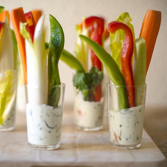 Crudités de verduras