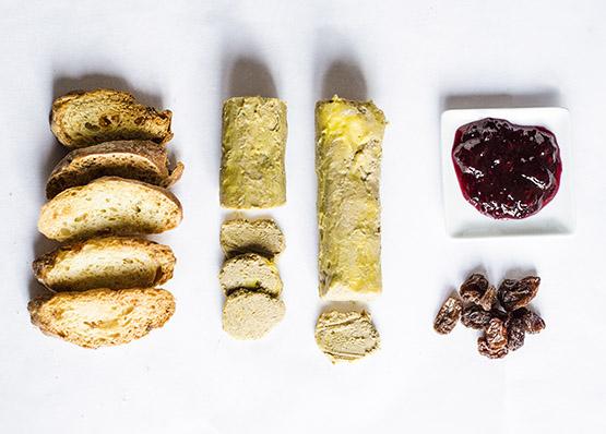 Foie micuit y tostitas