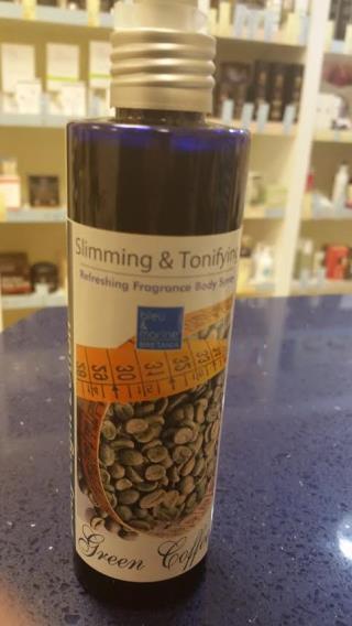 SAMOYDA LOCION REAFIRMANTE Y TONIFICANTE , CAFE VERDE 190 ml